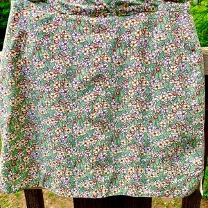 American Eagle cotton print short skirt size 0